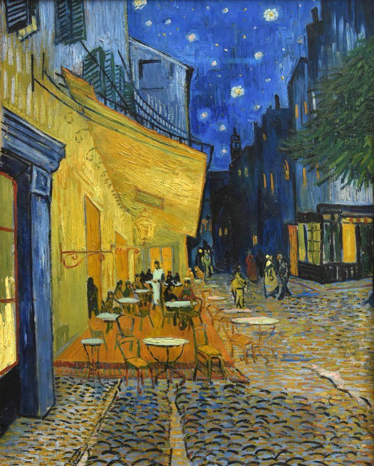 ゴッホの夜のカフェテラス